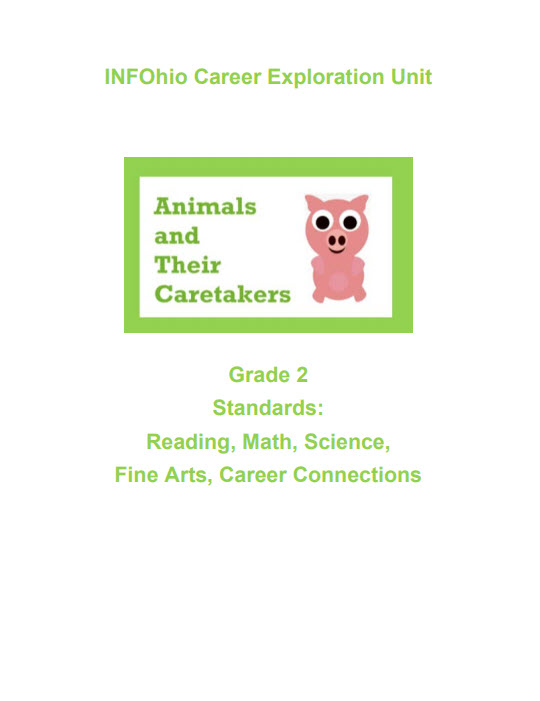 Grade 2: Animals and Their Caretakers