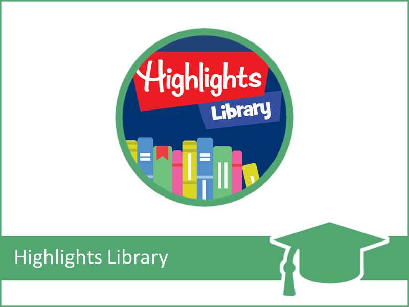 Highlights Library Class (INFOhio Learning Pathways)