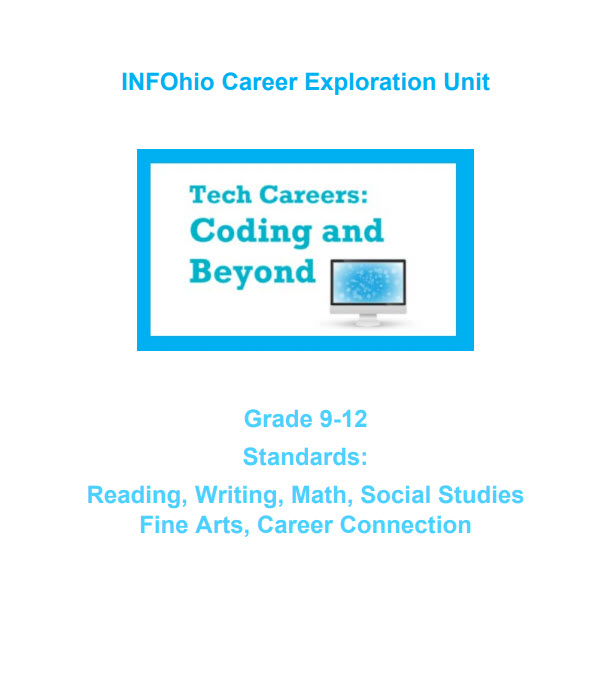 Grade 9-12: Tech Careers, Coding and Beyond